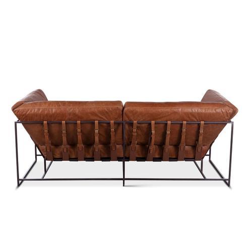 Leo Sofa in Columbia Brown Leather