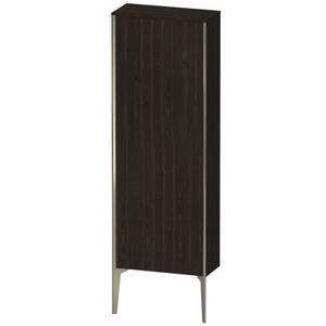 Semi-tall Cabinet Floorstanding, Brushed Walnut (real Wood Veneer)
