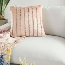 "Sofia Az217 Blush 20"" X 20"" Throw Pillow"