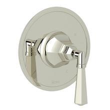 Palladian Pressure Balance Trim without Diverter - Polished Nickel with Metal Lever Handle