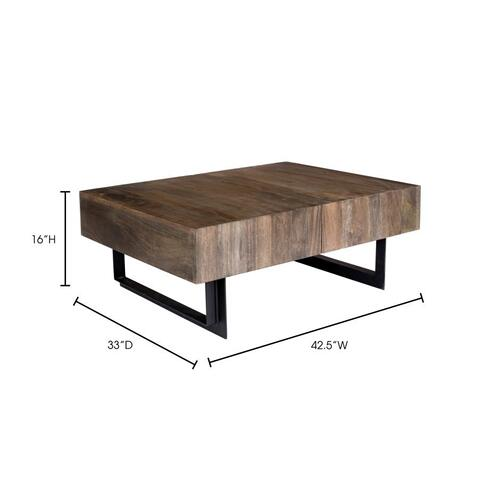 Moe's Home Collection - Tiburon Storage Coffee Table