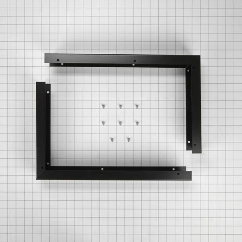 KitchenAid - Microwave Side Panel Kit - Black