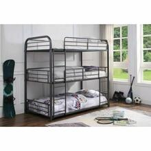 ACME Cairo Triple Bunk Bed - Twin - 38090 - Gunmetal