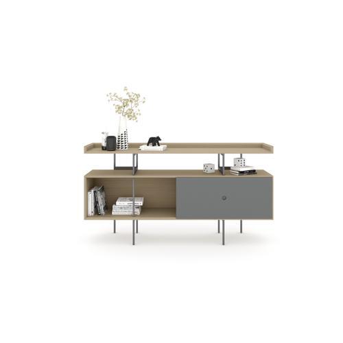 BDI Furniture - Margo 5211 Console in Drift Oak Fog Grey