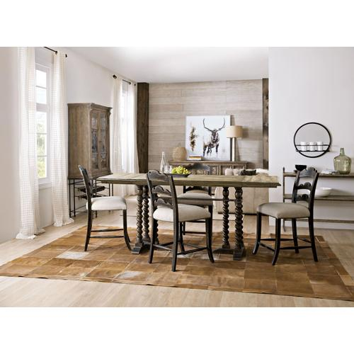 Dining Room La Grange Twin Sisters Ladderback Counter Stool