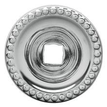 View Product - Polished Chrome Knob Back Plate