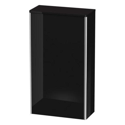 Semi-tall Cabinet, Black High Gloss (lacquer)