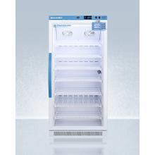 See Details - Performance Series Pharma-vac 8 CU.FT. Upright Glass Door All-refrigerator for Vaccine Storage With Factory-installed Data Logger, Antimicrobial Silver-ion Handle, and A Hospital Grade Cord With 'green Dot' Plug
