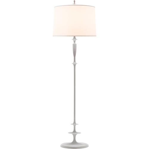 Barbara Barry Lotus 69 inch 150.00 watt Plaster White Decorative Floor Lamp Portable Light