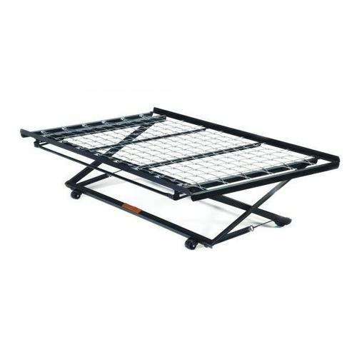 ACME Frame Twin Pop-Up Trundle Bed Frame w/Link Spring - 02506 - Metal