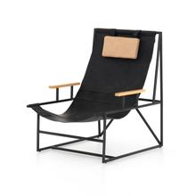 Judson Sling Chair- Ebony Natural