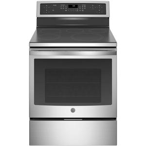 "GE Profile™ 30"" Smart Free-Standing Convection Range with Induction Product Image"