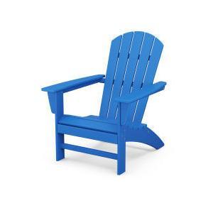Polywood Furnishings - Nautical Adirondack Chair in Pacific Blue