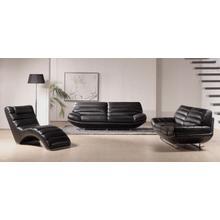 Product Image - Divani Casa Boco - Modern Black Leather Sofa Set