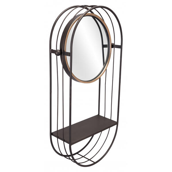 Saroni Mirror Shelf Gray