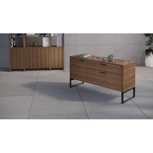 BDI Furniture - Linea 6220 Multifunction Cabinet in Natural Walnut