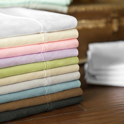 Brushed Microfiber Queen Pillowcase White