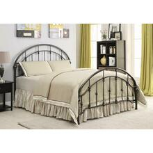 View Product - Maywood Transitional Black Metal Full Bed