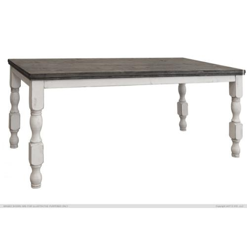 Counter Table w/ Turned Legs