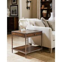 Thoroughbred Eclipse End Table Square - Toast