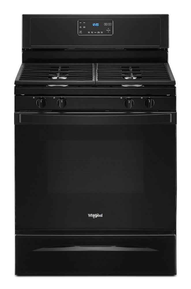 5.0 cu. ft. Whirlpool® gas range with SpeedHeat™ burner
