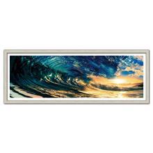 Modrest Barrel Framed Acrylic Painting