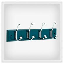 View Product - Beveled Square 18 in. Hook Rack
