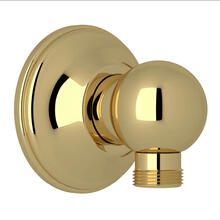 Handshower Drop Ell - Unlacquered Brass