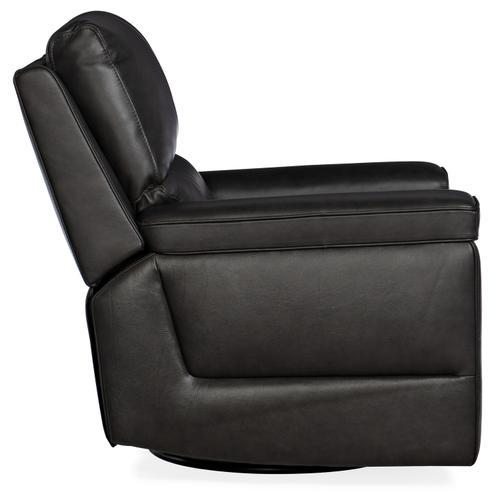Hooker Furniture - Gable Leather PWR Swivel Glider w/ PWR Headrest