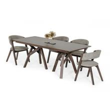 View Product - Modrest Grover - Modern Dark Wenge Dining Table