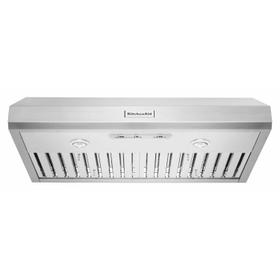 """36"""" 585 CFM Motor Class Commercial-Style Under-Cabinet Range Hood System - Stainless Steel"""