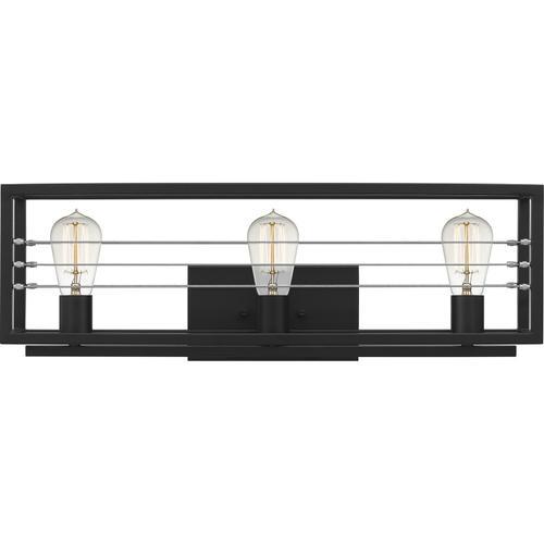 Quoizel - Awendaw Bath Light in Matte Black