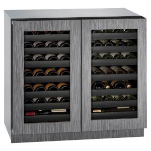 "U-LINE3036wcwc 36"" Dual-zone Wine Refrigerator With Integrated Frame Finish (115 V/60 Hz Volts /60 Hz Hz)"