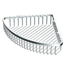 "Corner Shower Basket 12""W in Chrome"