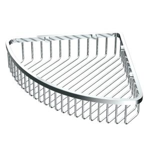 "Corner Shower Basket 12""W in Chrome Product Image"