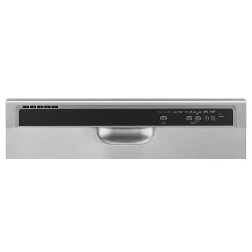 Whirlpool - ENERGY STAR® certified dishwasher with Sensor cycle Monochromatic Stainless Steel
