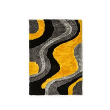 Vancouver 5' X 7' Gray & Yellow Area Rug