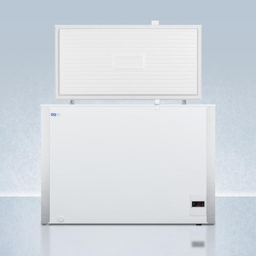 Summit - Commercially Listed 8 CU.FT. Frost-free Chest Refrigerator In White With Digital Thermostat for General Purpose Applications; Replaces Scfr70