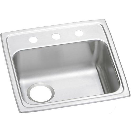 """Elkay Celebrity Stainless Steel 19-1/2"""" x 19"""" x 5-1/2"""", Single Bowl Drop-in ADA Sink"""