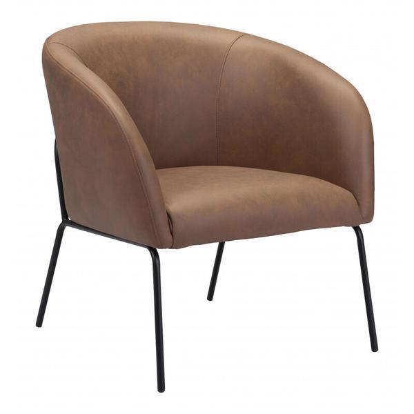 See Details - Quinten Accent Chair Vintage Brown