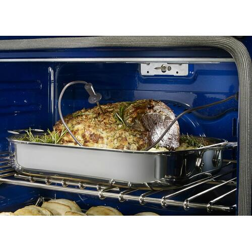 """KitchenAid Canada - 30"""" Double Wall Oven with Even-Heat™ True Convection - Stainless Steel"""