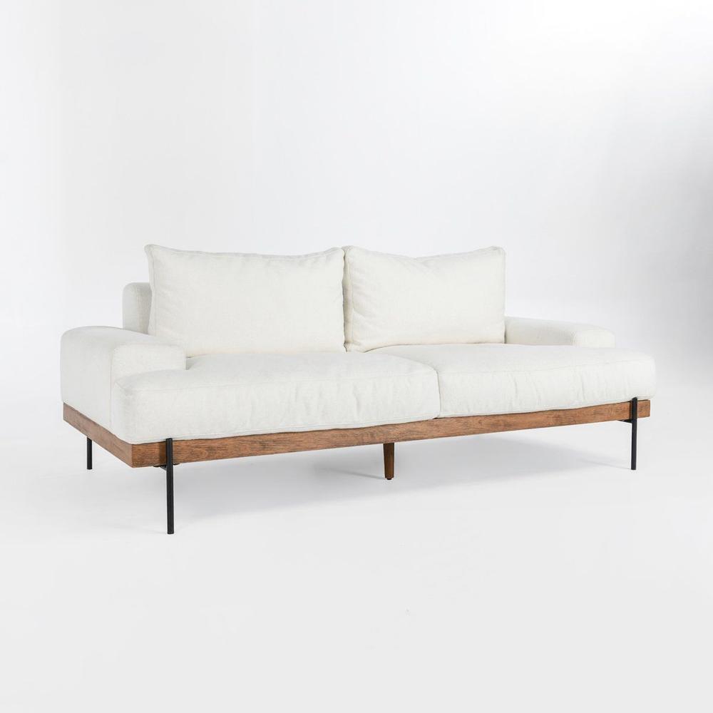 See Details - Faro Sofa White