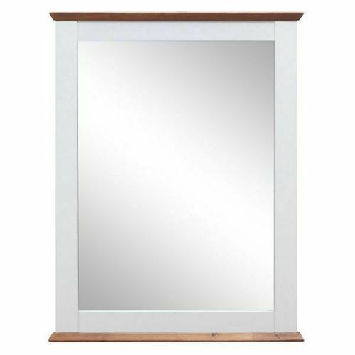 ACME Farah Mirror - 30834 - White & Oak
