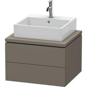 Vanity Unit For Console, Flannel Gray Satin Matte (lacquer)