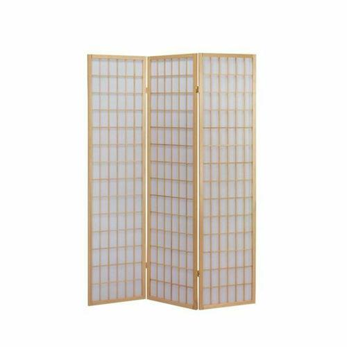 ACME Naomi 3-Panel Room Divider - 02285 - Natural