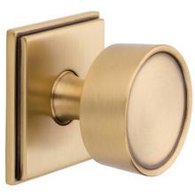 Satin Brass and Brown K008 Hollywood Hills Knob