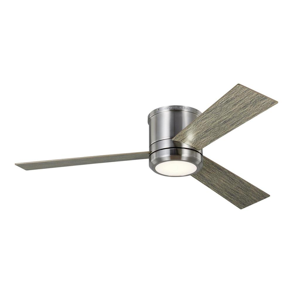 See Details - Clarity 56 LED - Brushed Steel w LGWO Blades