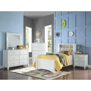 ACME Mallowsea Twin Bed - 30410T - White