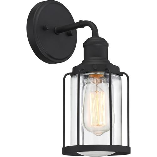 Quoizel - Ludlow Wall Sconce in Earth Black