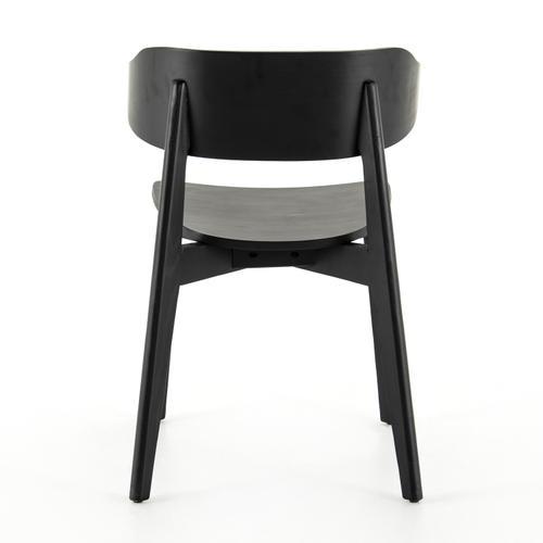 Black Finish Franco Dining Chair